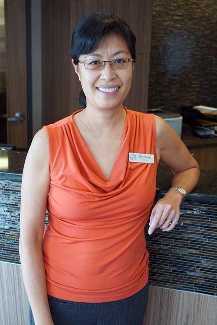 Dr. Iju Chuah   NE Calgary Dentist   Memorial Square Dental